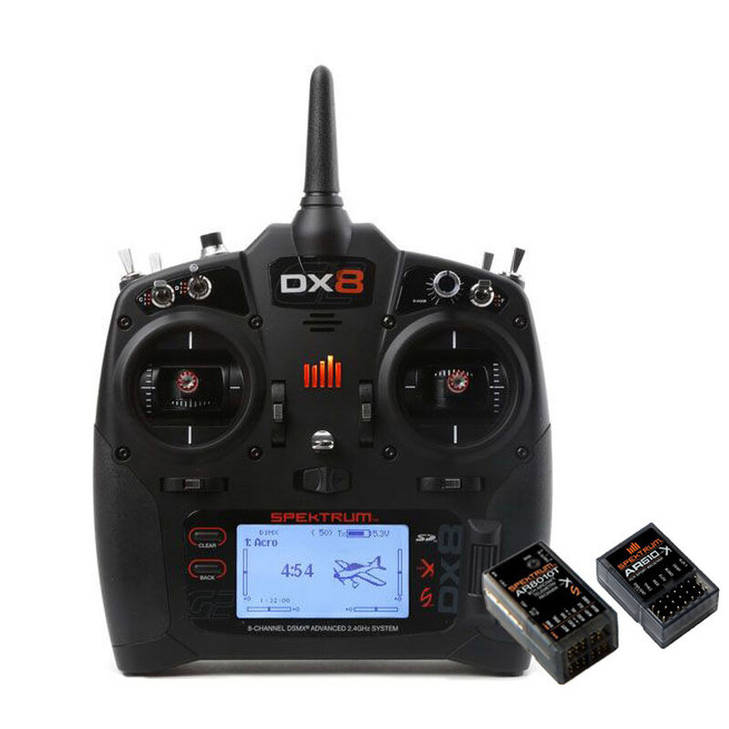 DX8 G2 8-Channel Radio System with AR8010T + AR610