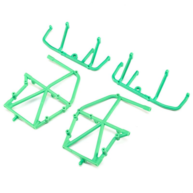 Side Cage and Lower Bar, Green: LMT