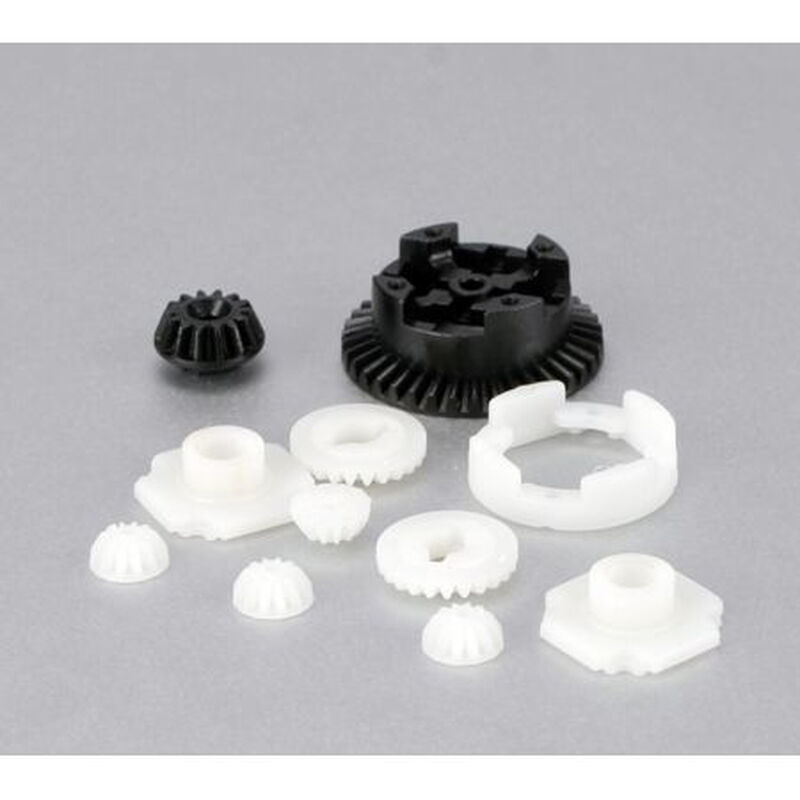FR/R Metal Diff Gear & Housing Set: MLST2, MRAM