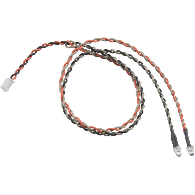 Double LED Light String Orange