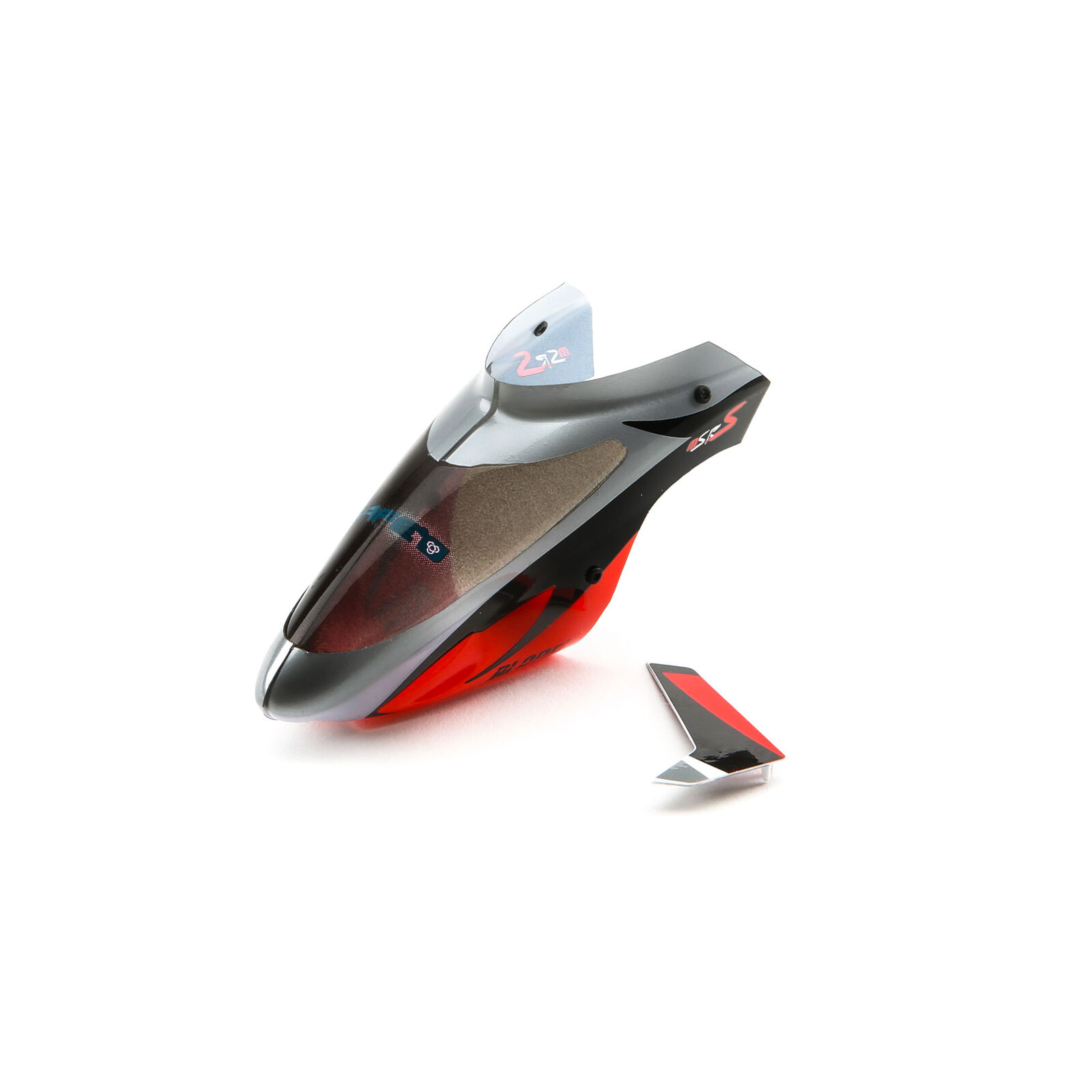 Complete Canopy with Vertical Fin: mSR S