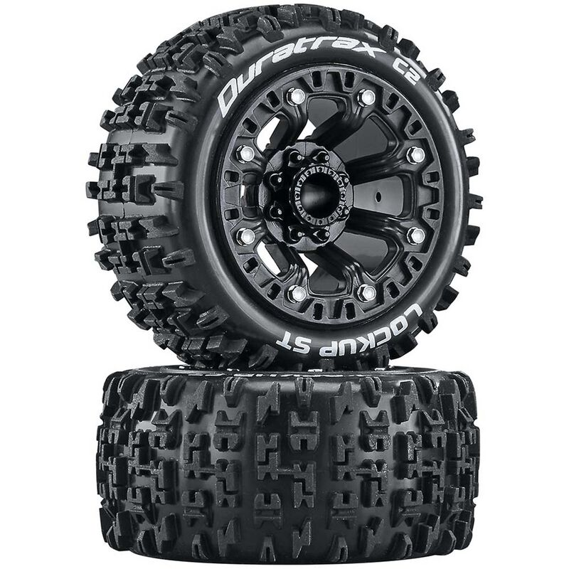 Lockup ST 2.2 Tires, Black (2)
