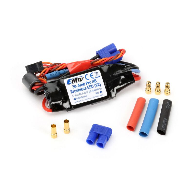 30-Amp Pro Switch-Mode BEC Brushless ESC V2: EC3