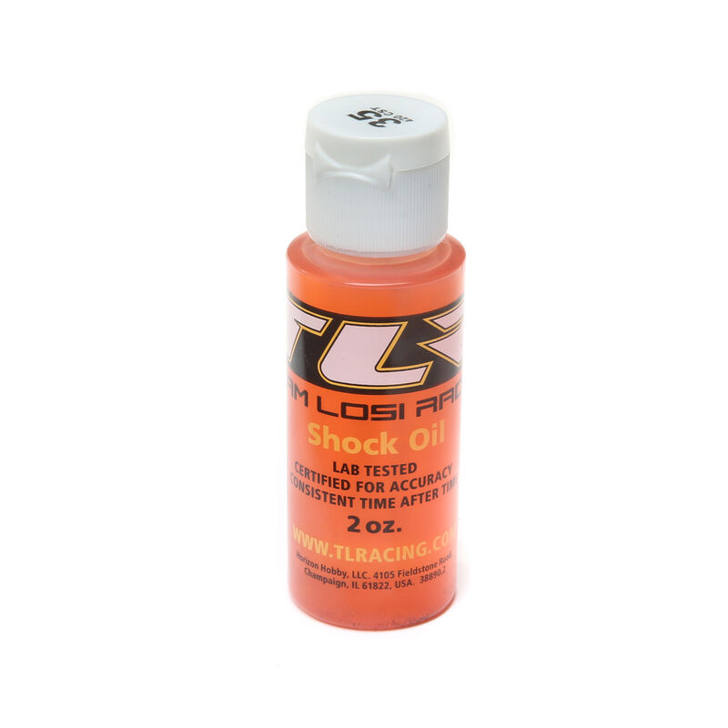 Silicone Shock Oil, 35wt, 2oz