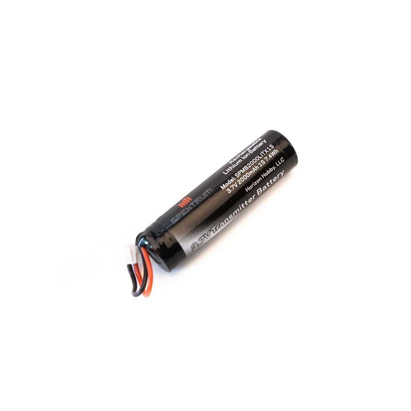 3.7V 1S 2000mAh LiIon Transmitter Battery: NX6, NX8