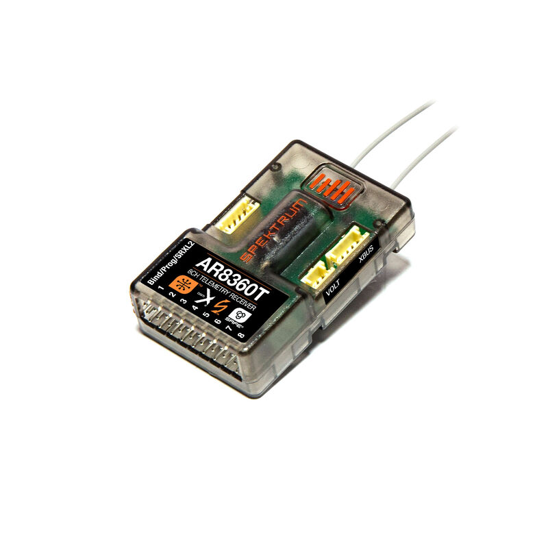 AR8360T DSMX 8-Channel SAFE & AS3X Telemetry Receiver