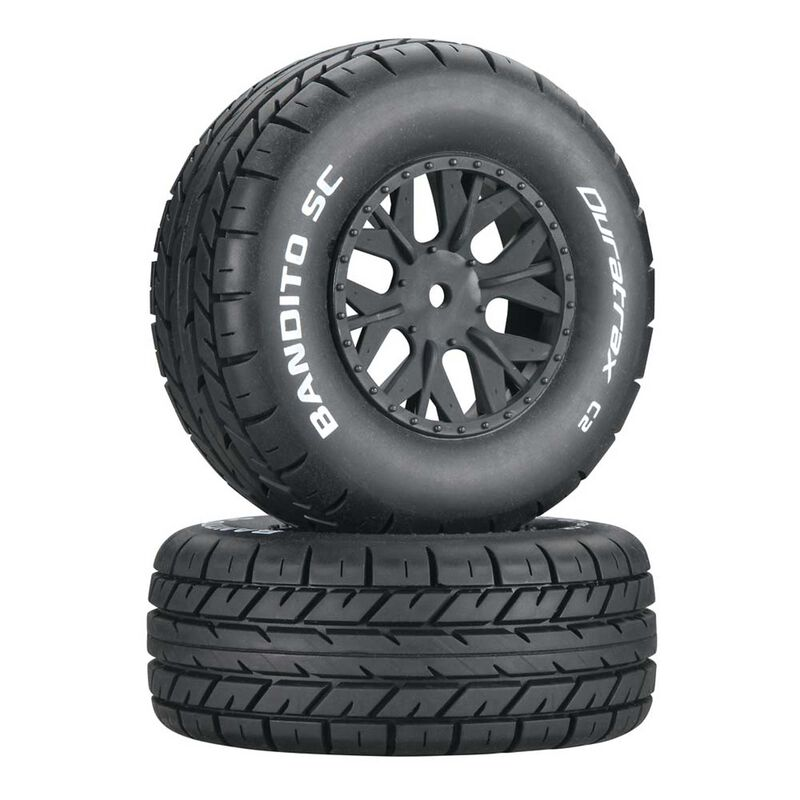 Bandito SC C2 Mounted Tires: SC10 4x4 (2)