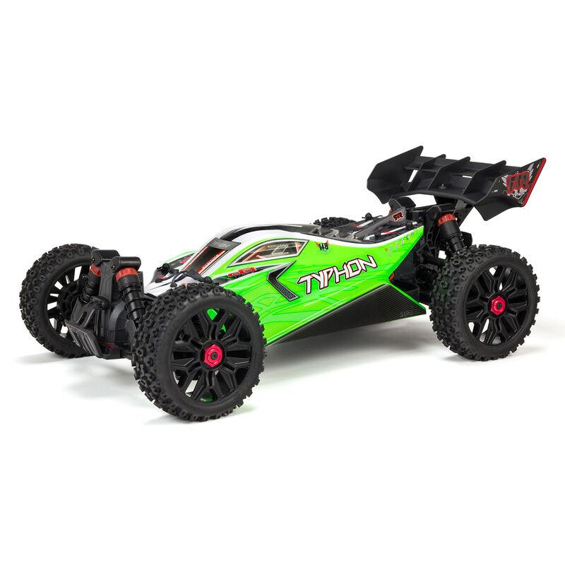 1/8 TYPHON MEGA 550 Brushed 4WD Speed Buggy RTR International, Green