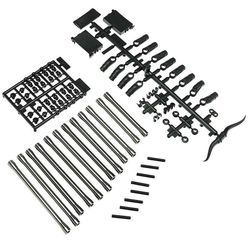 Rear Link Set Aluminum 80 94 101.5mm: SCX10 II