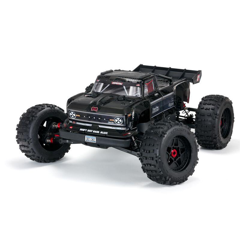 1/5 OUTCAST 4WD EXtreme Bash Roller, Black