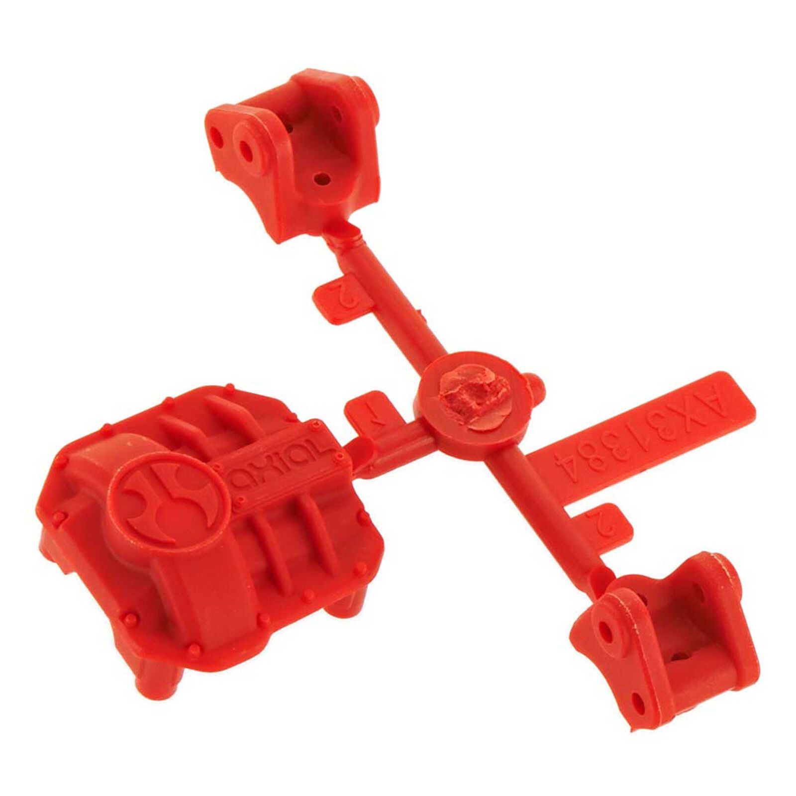 AR44 Differential Cover Link Mounts Red