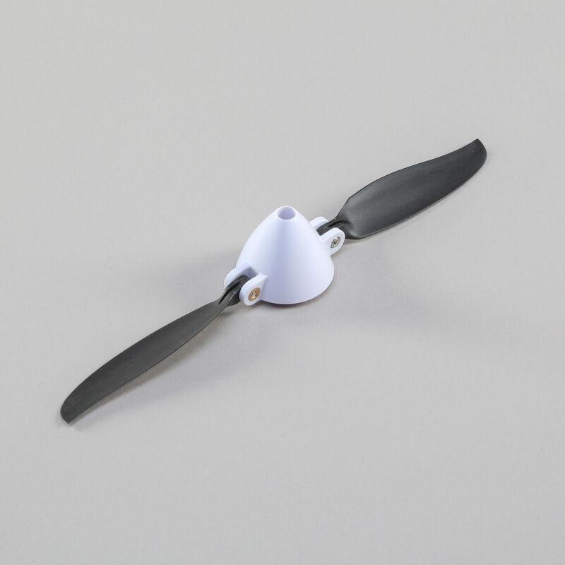 Folding Propeller & Spinner Set: Opterra 1.2m