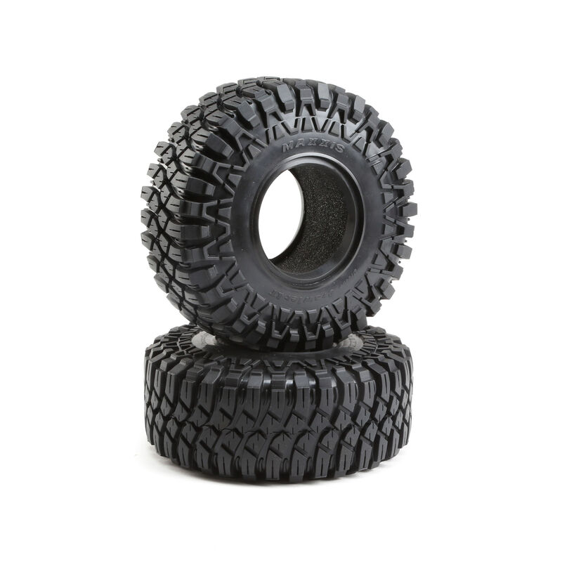 1/6 Maxxis Creepy Crawler LT Front/Rear 3.6  Tire with Inserts (2): Super Rock Rey
