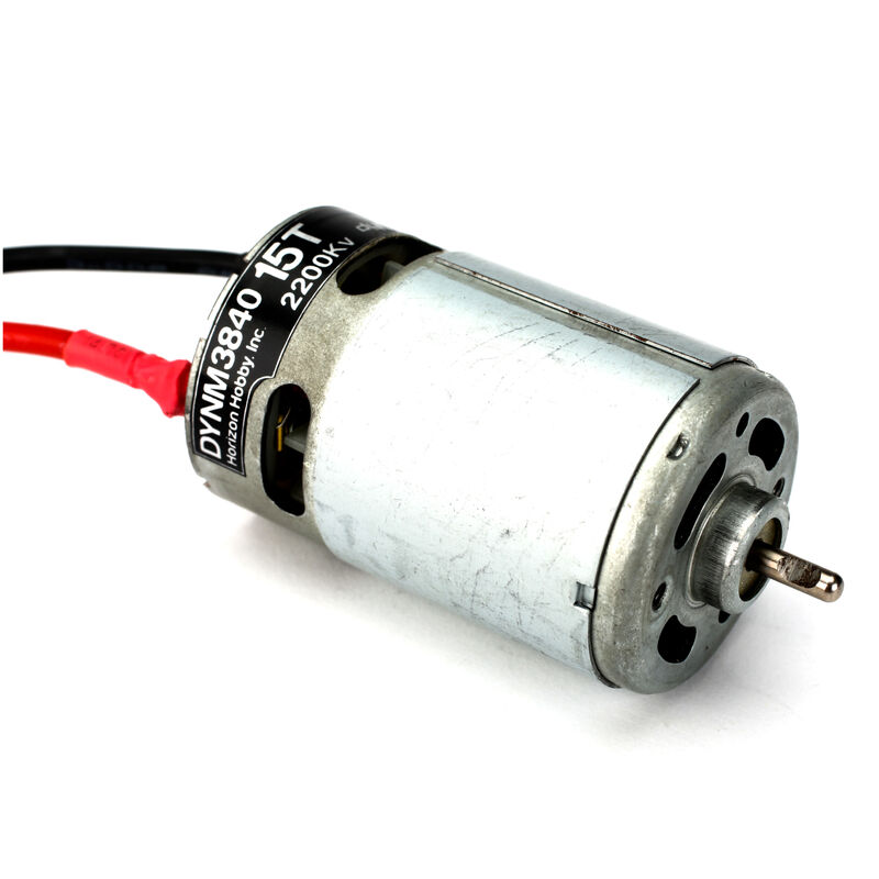 15-Turn 550, 2200Kv, Brushed Marine Motor