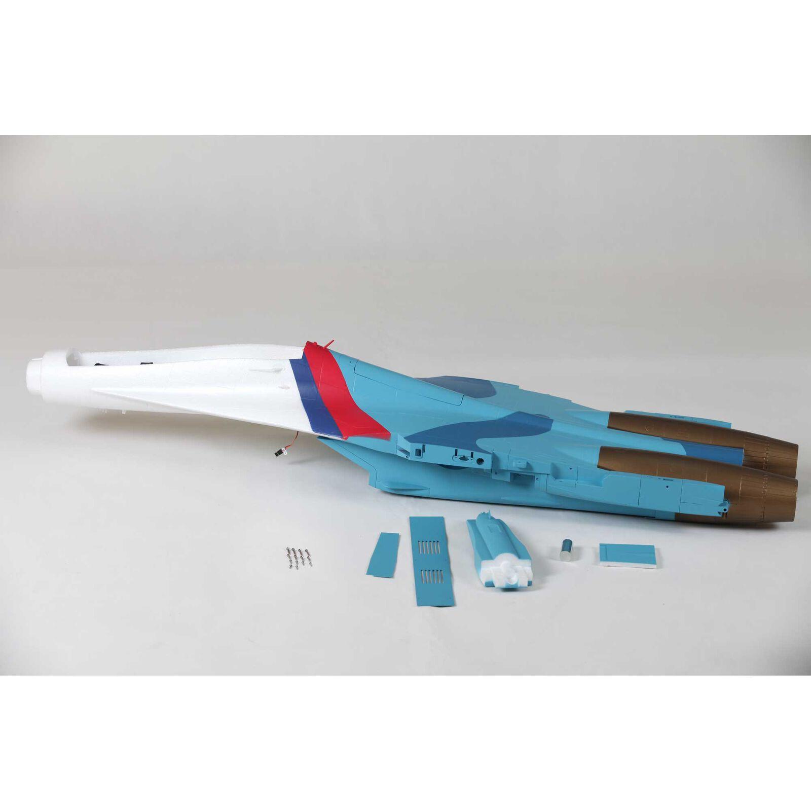 Fuselage: Su-30 70mm EDF