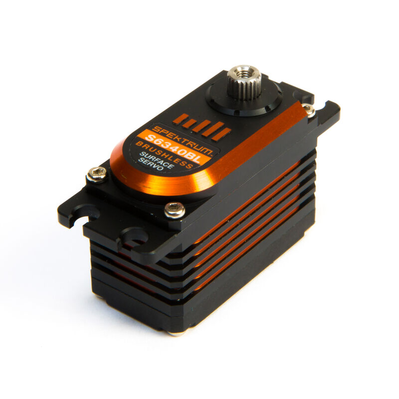 S6340BL Brushless High-Voltage Low Profile Aluminum Servo