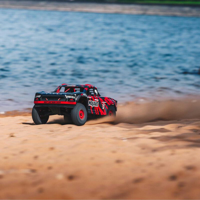 1/7 MOJAVE 6S BLX 4WD Brushless Desert Truck RTR, Red/Black