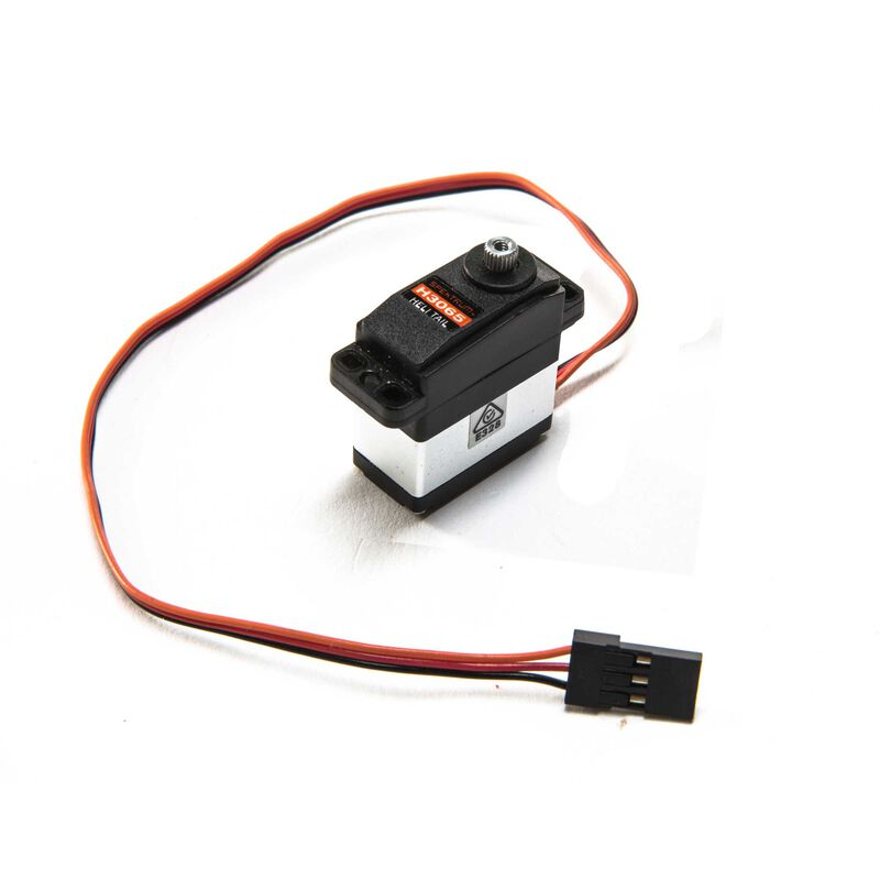 H3065 Sub-Micro Digital Mid-Torque Ultra-Speed Metal Gear Heli Tail Servo