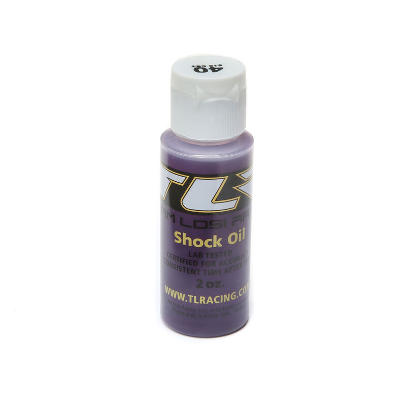 Silicone Shock Oil, 40wt, 2oz