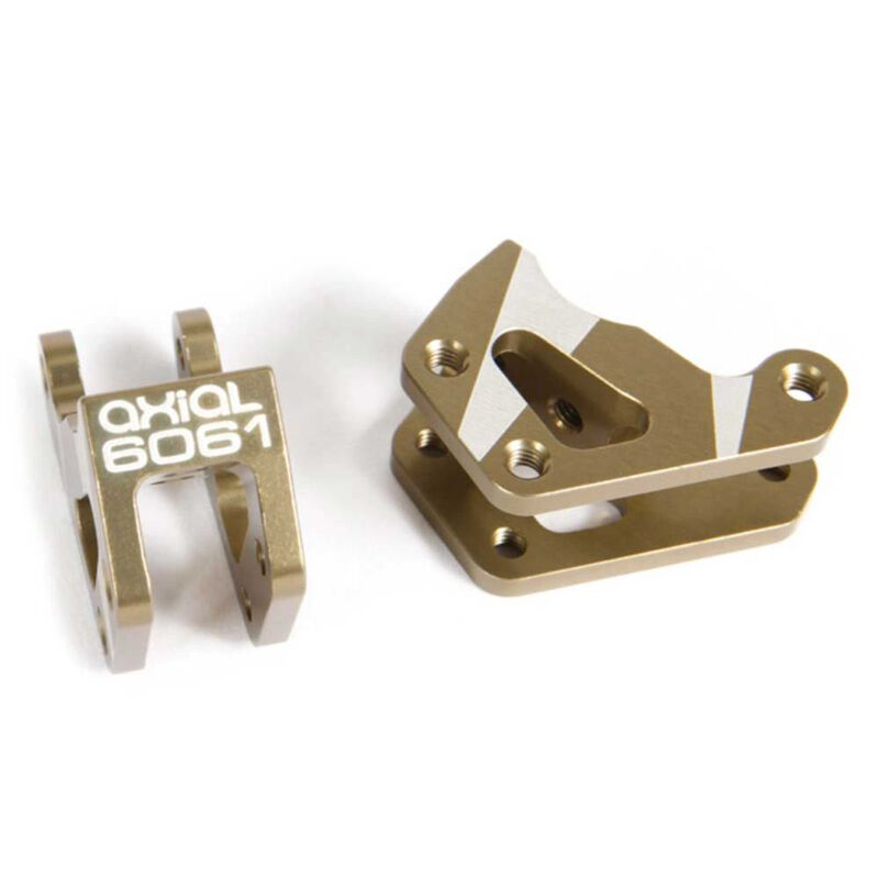 AR60 Machined Link Mounts Hard Anodzied (2)