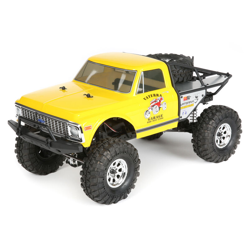 1/10 1972 Chevrolet K10 Pickup Ascender 4WD Brushed RTR