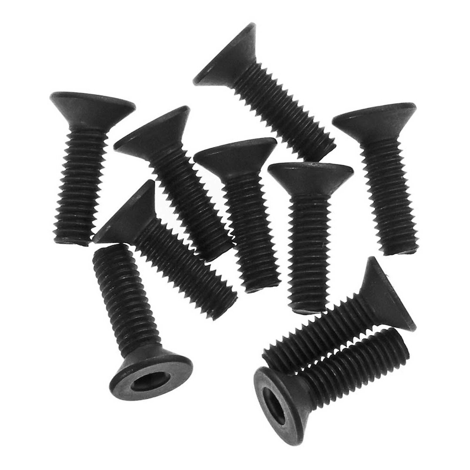 Hex Socket Flat Head 3x10mm (10)