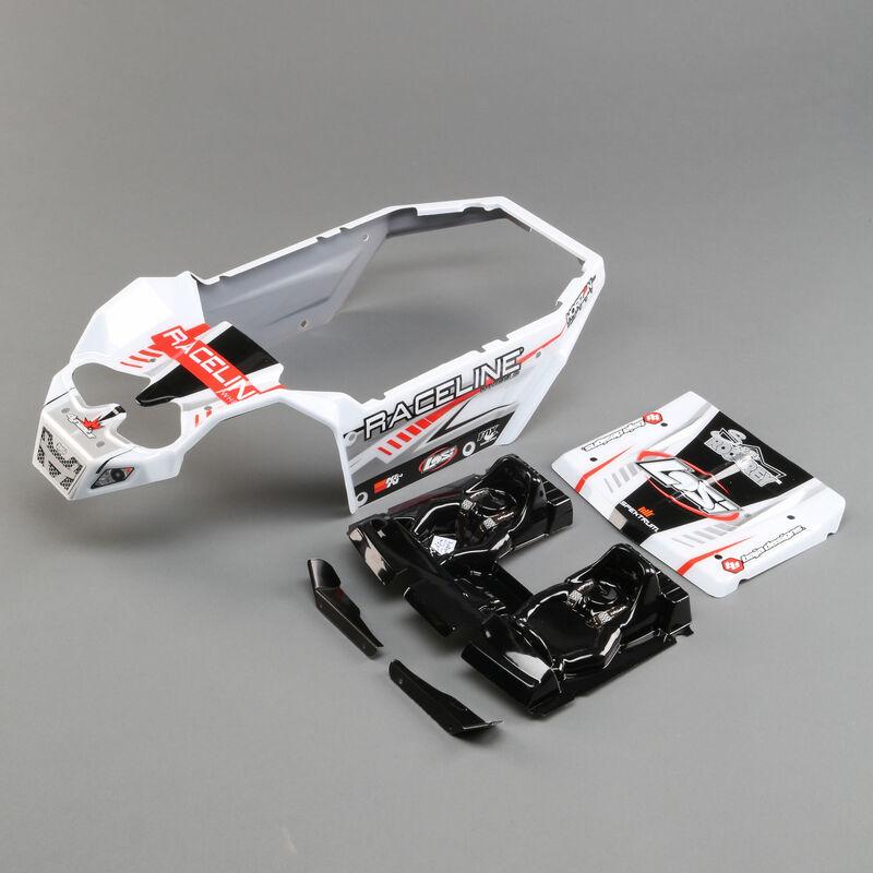 Body Set, Raceline Wheels: Super Rock Rey