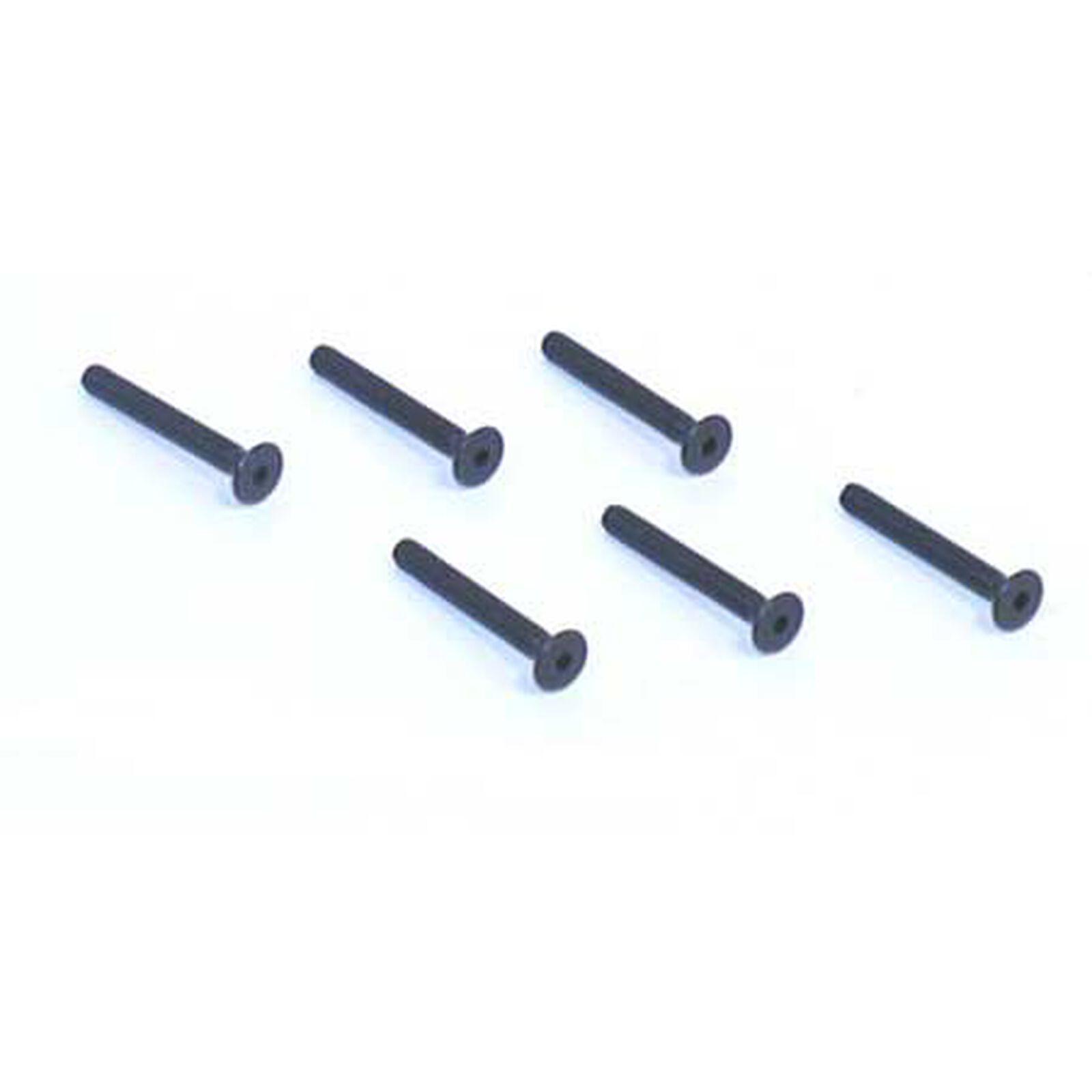 """Flat Head Screws, 4-40 x 7/8"""" (6)"""