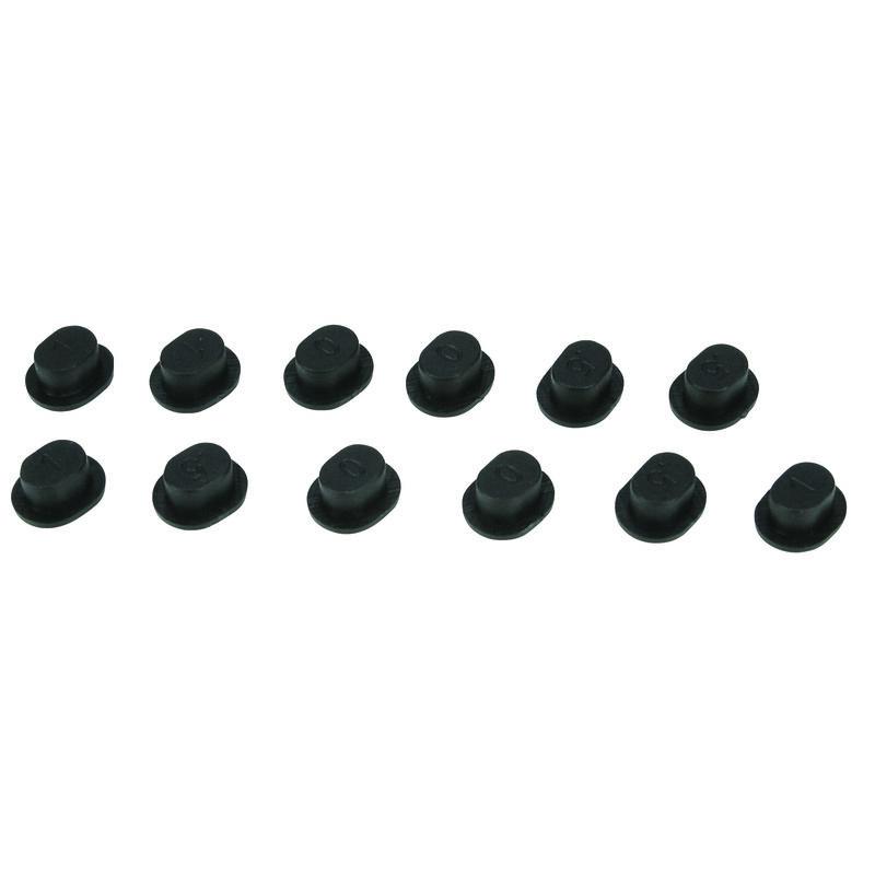 LOSI Kunststoffeinsätze für einstellbaren Querlenkerhalter: TEN