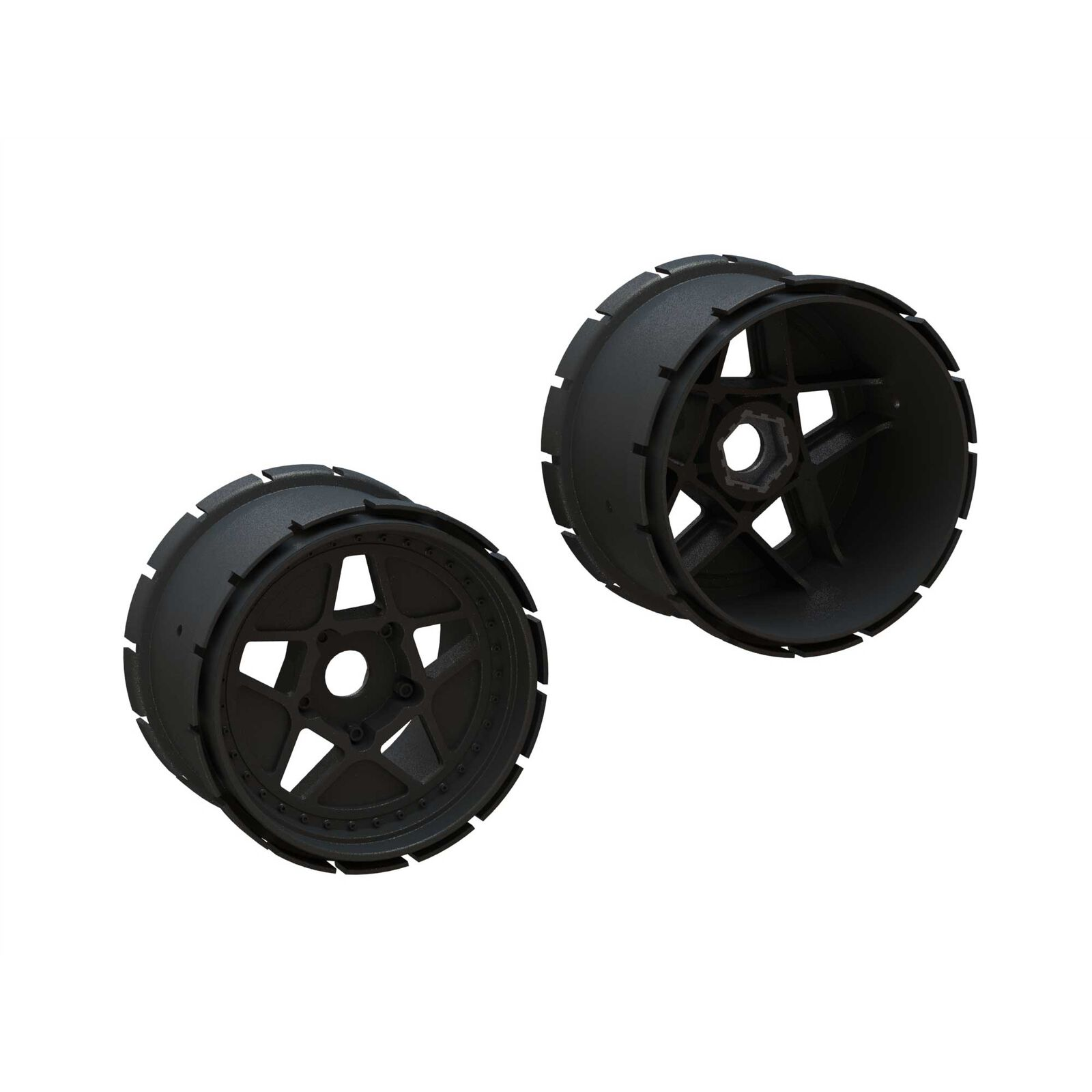 MT Wheels, 4.9in 24mm Hex (2)