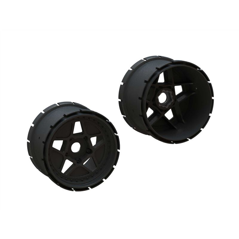 MT Wheels, 4.9in 24mm Hex (2)