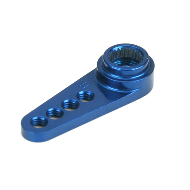 1/2 Machined Aluminum Servo Arm: HRC Blue