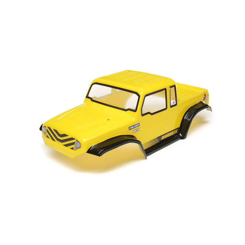 1/10 Painted Body, Yellow: Barrage 2.0