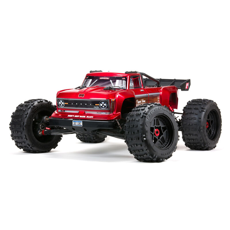 1/5 OUTCAST 4X4 8S BLX Stunt Truck RTR, Red