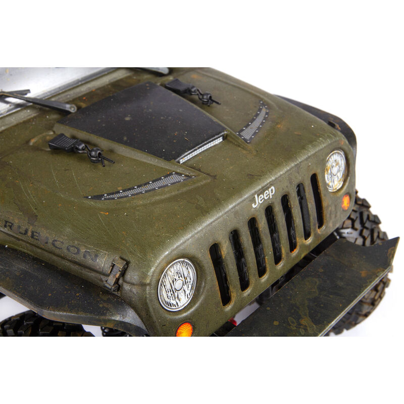 2017 Jeep Wrangler Rubicon Hardtop Body, Clear