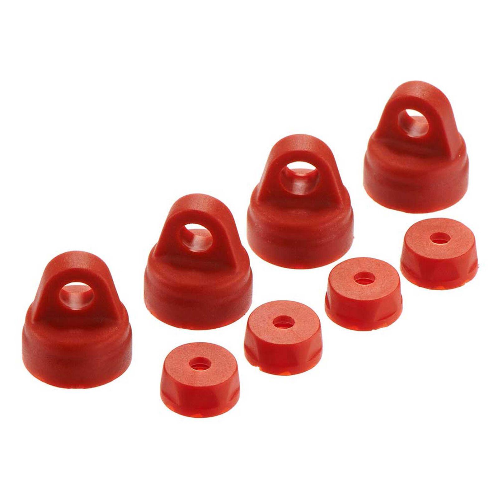 Shock Cap Set Red (4)