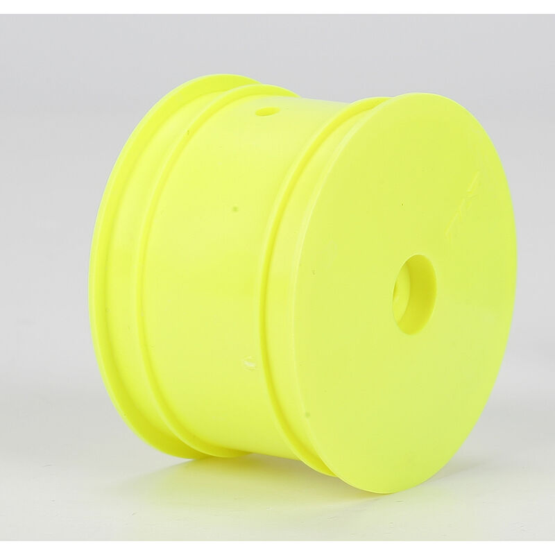 1/10 Rear Buggy 2.2 Wheels, 12mm Hex, Yellow (2): 22