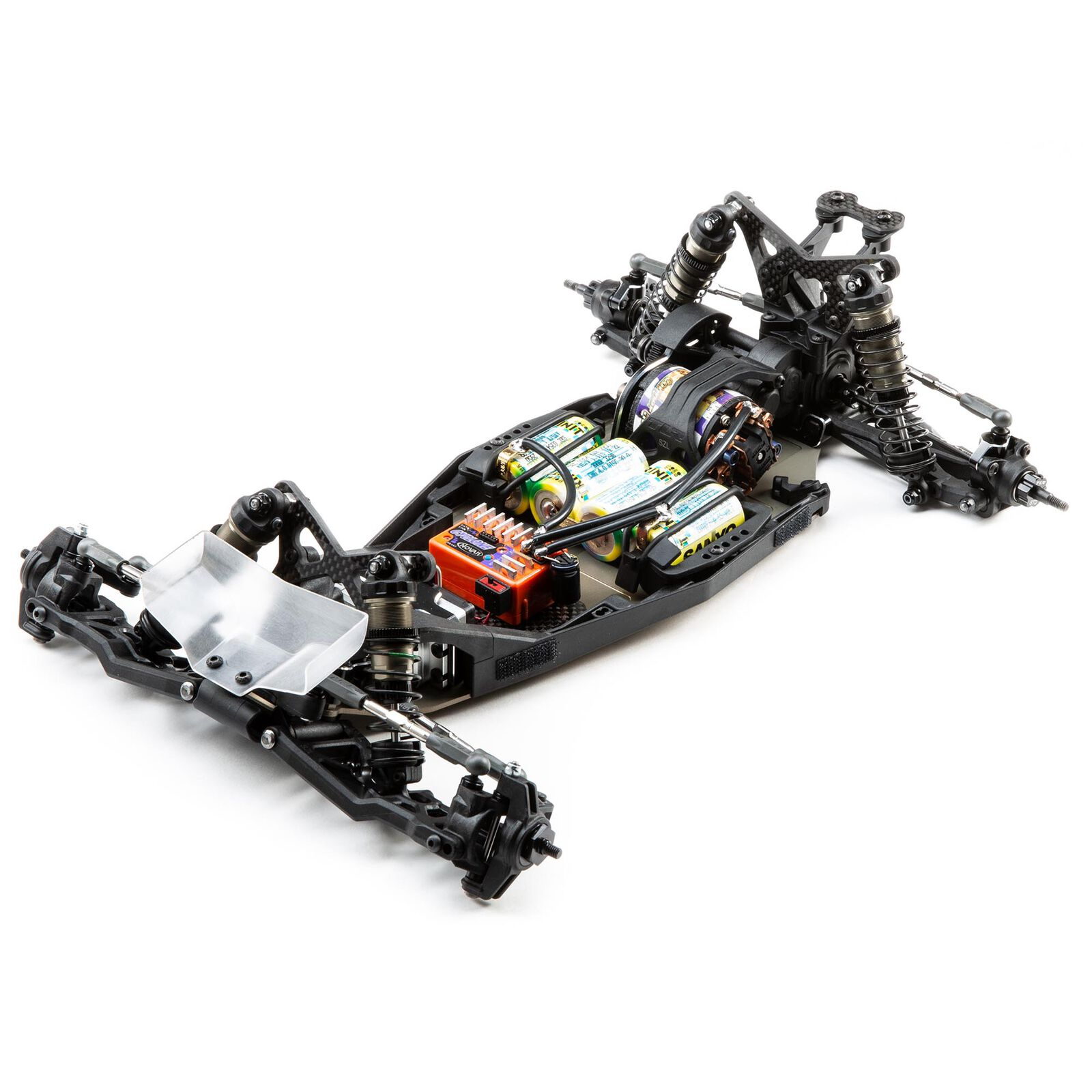 1/10 22 5.0 2WD DC ELITE Race Kit, Dirt/Clay