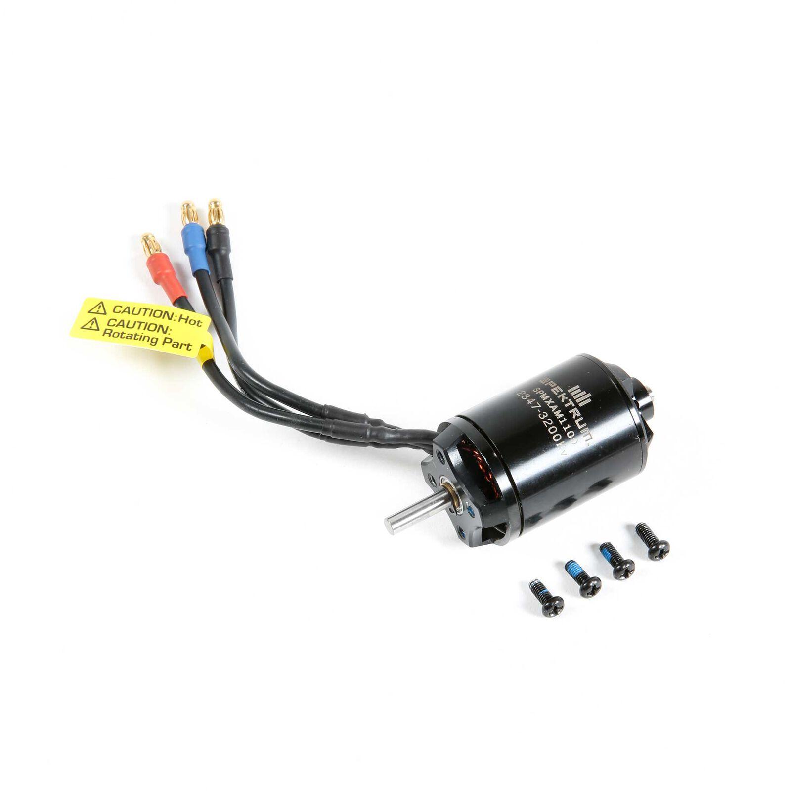 Brushless Motor, 2847-3200Kv: Habu STS