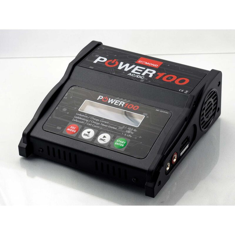 Power 100 Charger AC DC