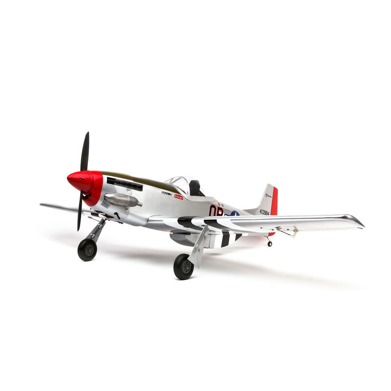 P-51 Mustang S 8cc BNF Gas Trainer with SAFE® 54.7""