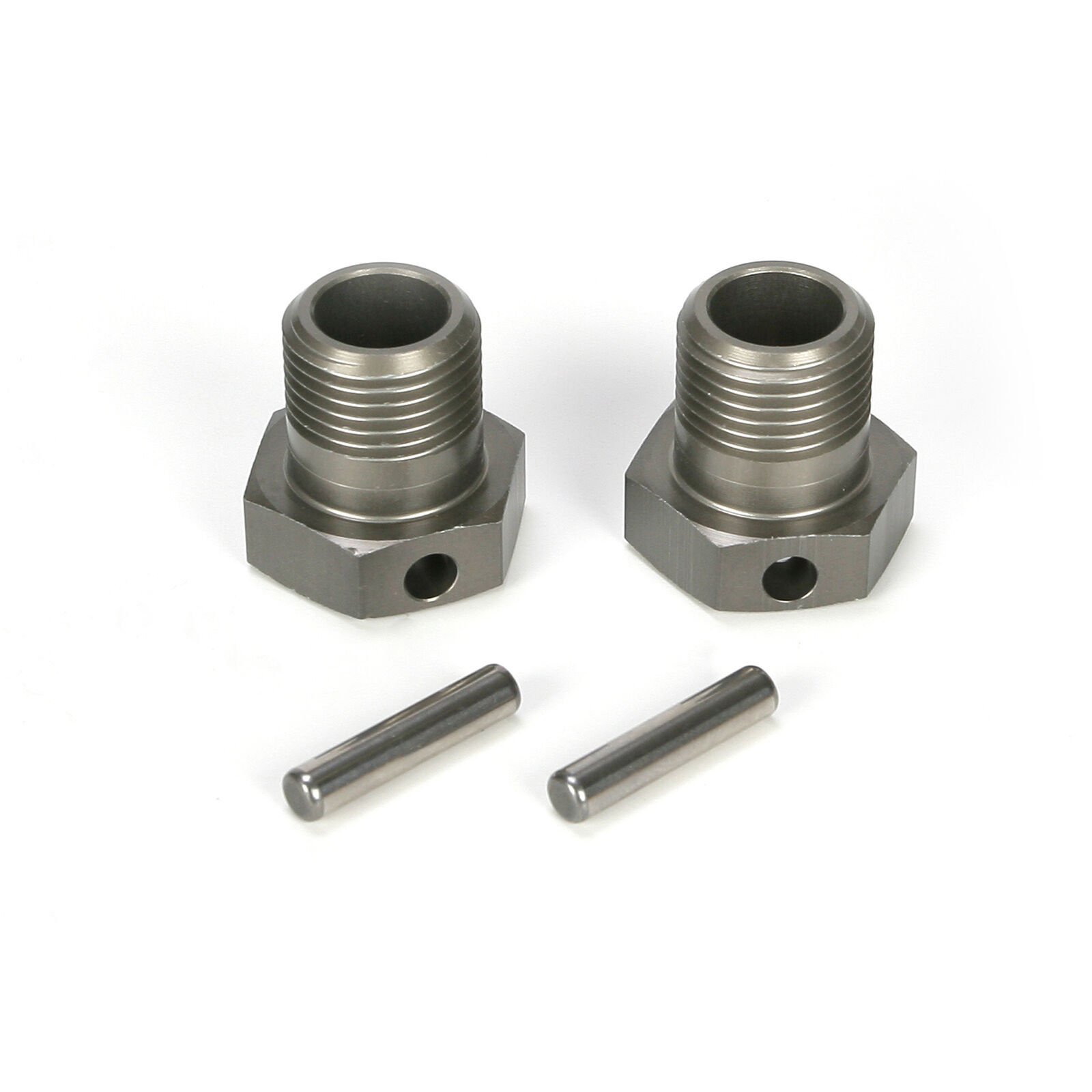 F/R Wheel Hex & Pin (2): 5TT