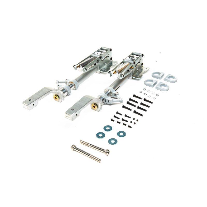 Retracts & Oleo Legs: Ki-43 Oscar 60cc