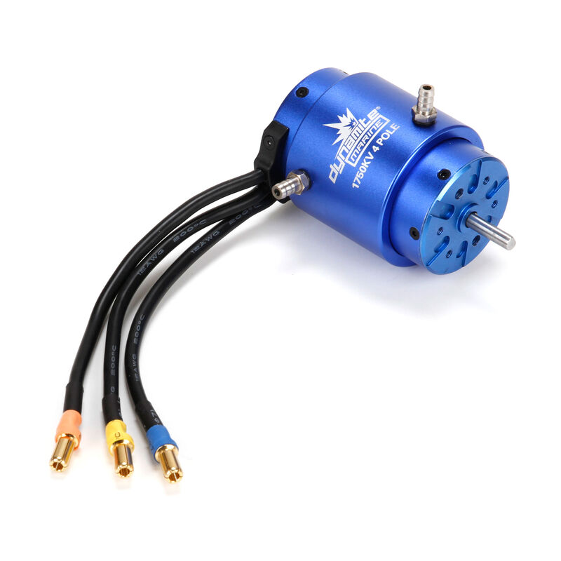 1750Kv 4-Pole Brushless Marine Motor, 40x68mm