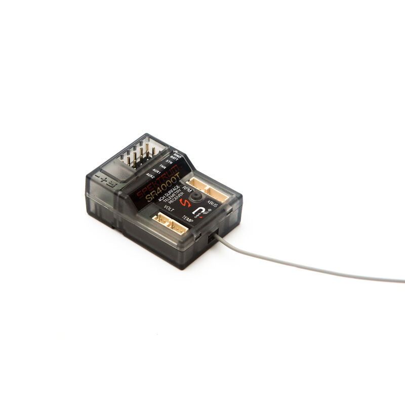 SR4000T 4-Channel DSMR Slim Receiver with Telemetry