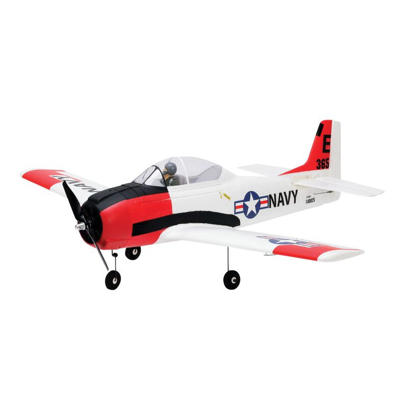 T-28 Trojan 1.1m BNF Basic with AS3X and SS