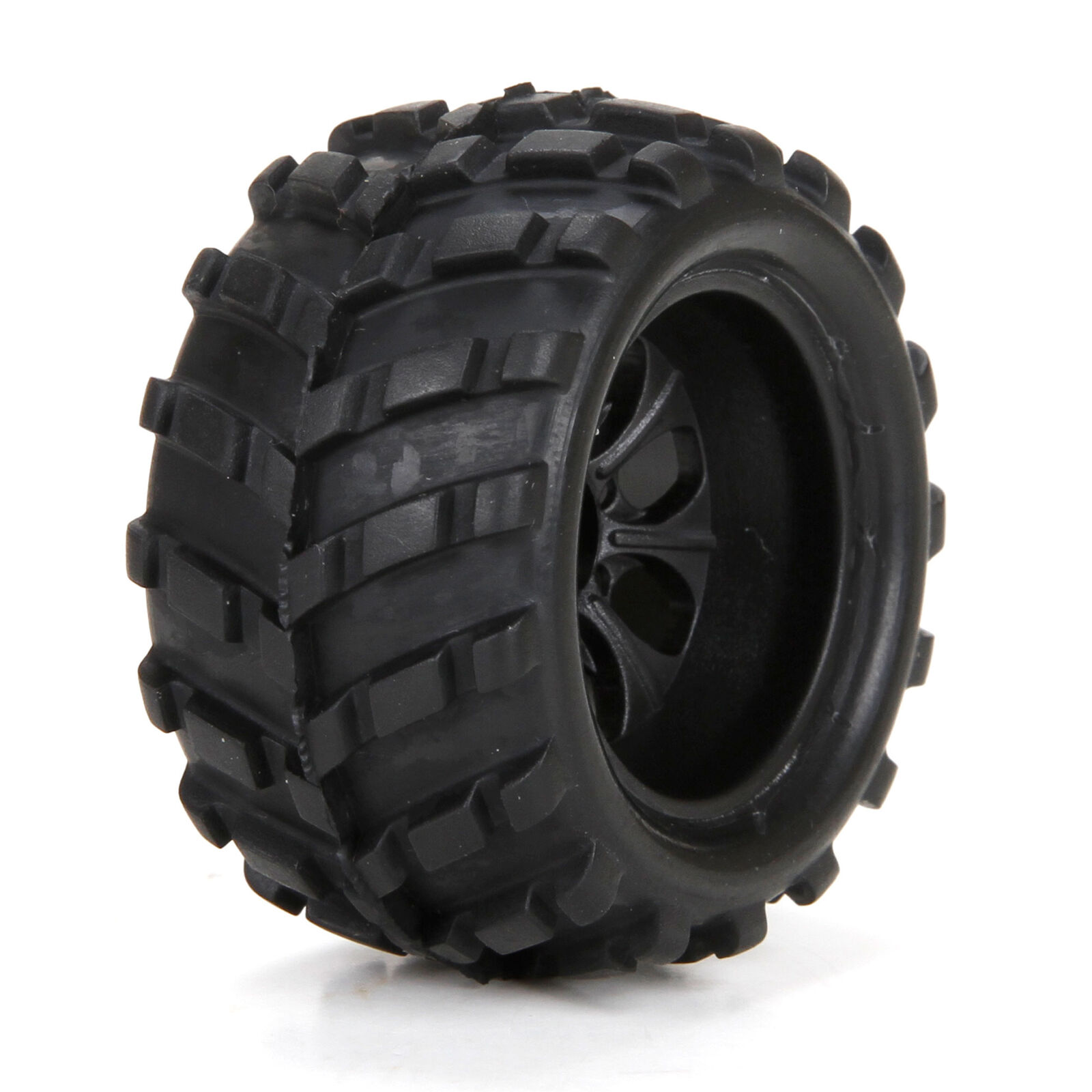 Front/Rear Premount Tire (2): 1/24 4WD Ruckus