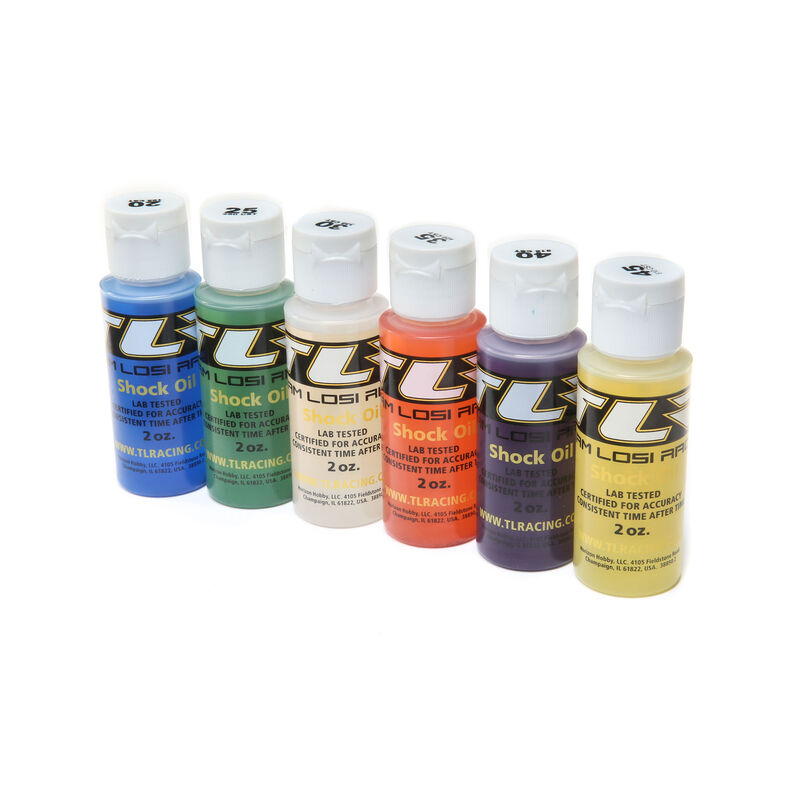 Shock Oil, 6Pk, 20, 25, 30, 35, 40, 45, 2oz