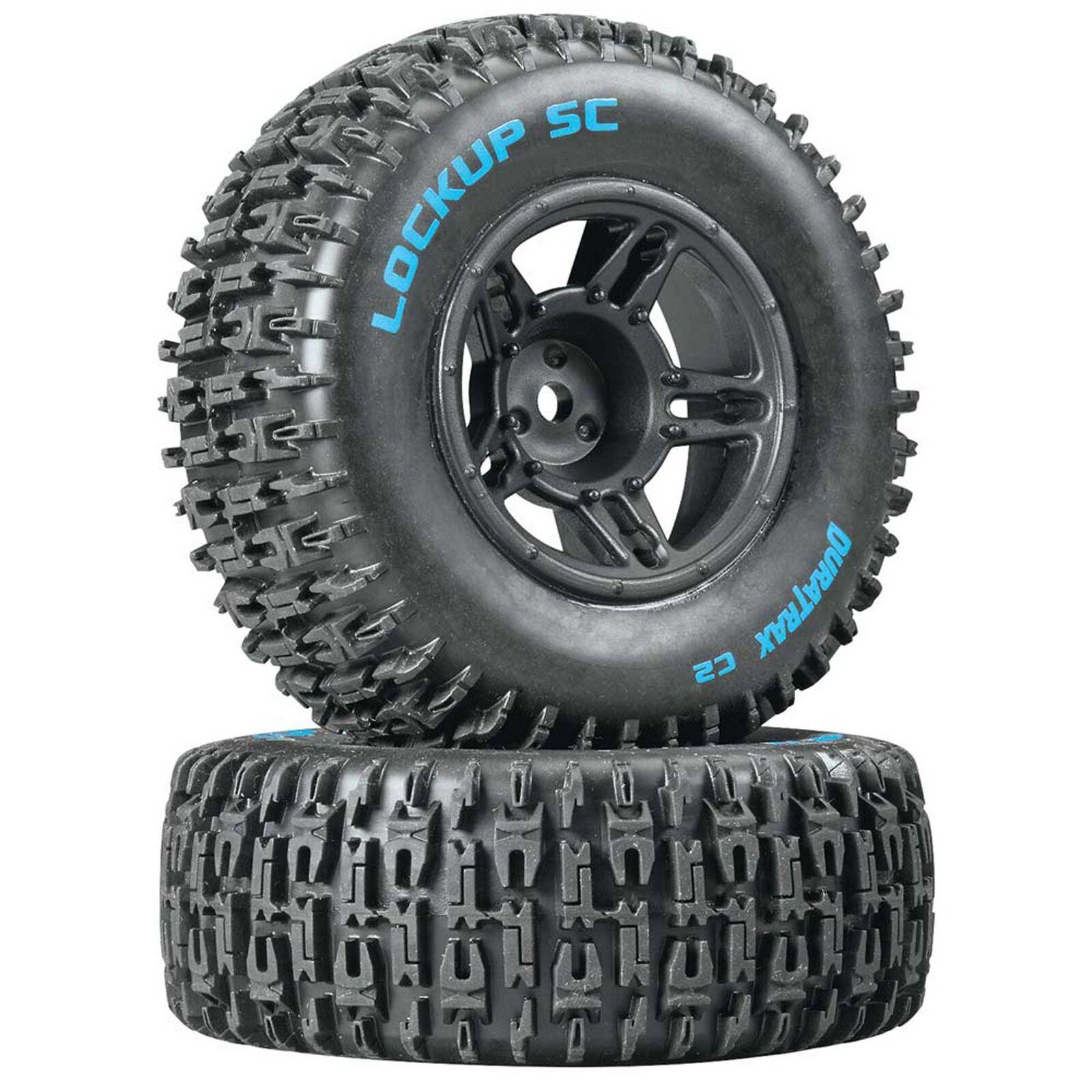 Lockup SC Tire C2 Mounted Black Front: Slash(2)