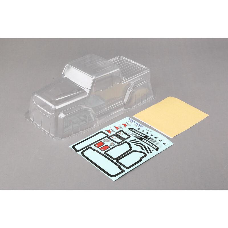 1/10 Clear Body Set: 1.9 Barrage Kit/RTR, Barrage 2.0